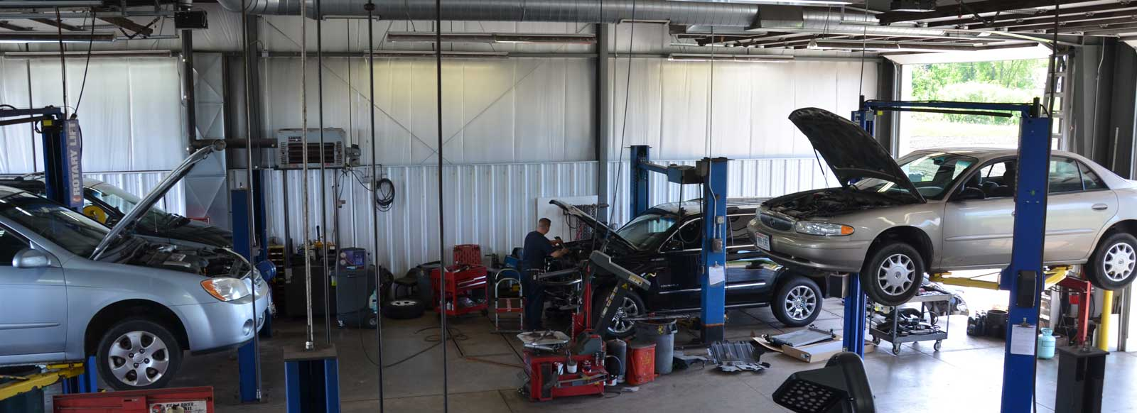 AFS Service Auto Repair Shop - Inside